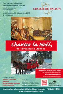 Chanter la Noël de Versailles à Québec