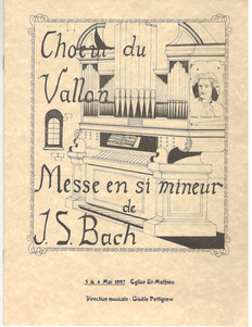 La Messe en Si mineur  Jean- Sébastien Bach  1997