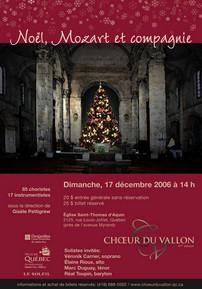 Noël Mozart et compagnie