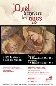 Noël à travers les âges