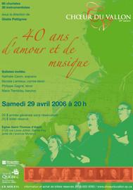 40 ans d'amour et de musique