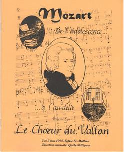 Le Requiem de Mozart  1998