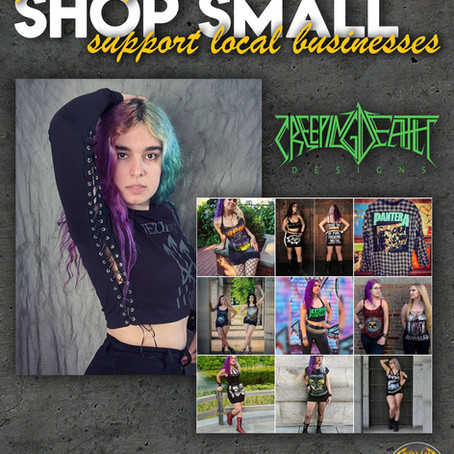 EVI Acts: Creeping Death Designs (small business spotlight)