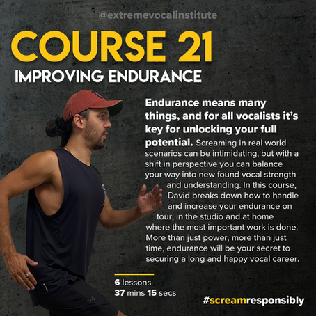 Course 21 is now live!