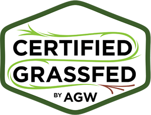 Certified grassfed logo, healthy eating