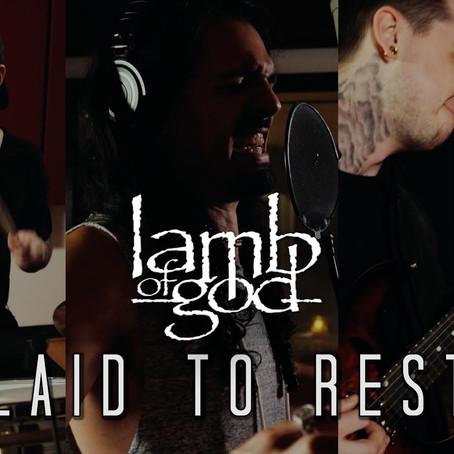 David Benites teams up with Luke Holland, Jason Richardson for Lamb of God 'Laid to Rest' cover