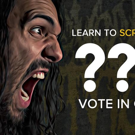 Live stream: Learn to scream like ???