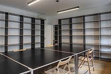 création de mobilier pour un espace coworking