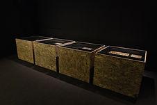 Conception et réalisation de la scénographie de l'exposition Le jardin des pharaons au Musée Botanique de Lausanne