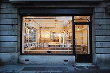 transformation d'un local commercial, créaton de meubles pour l'épicerie la Brouette, architecture d'intérieur