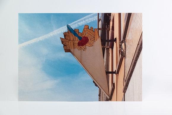 5 x Postcard - Fries