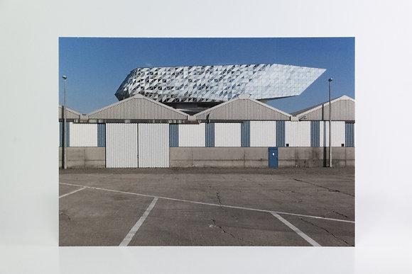 5 x Postcard - Hadid&Hangars