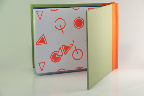 Bike notebook A6