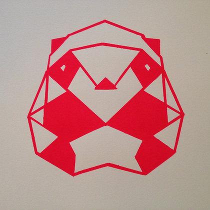 Panda print - A4