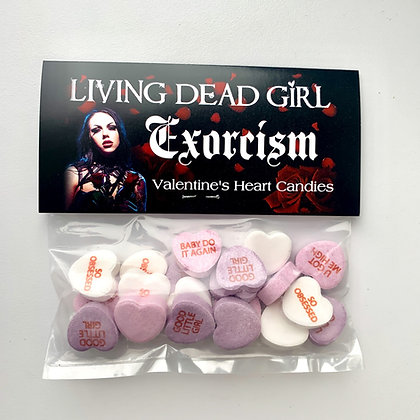 Exorcism Valentine's Candies