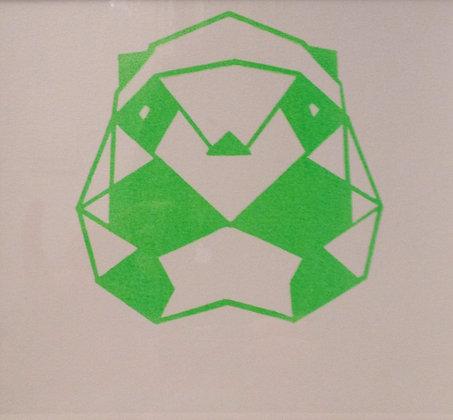 Panda print -square medium