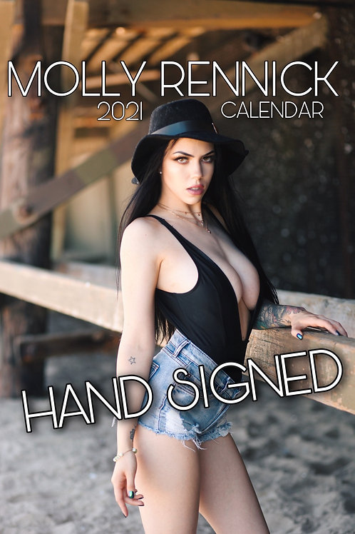 SIGNED Sexy 2021 Calendar