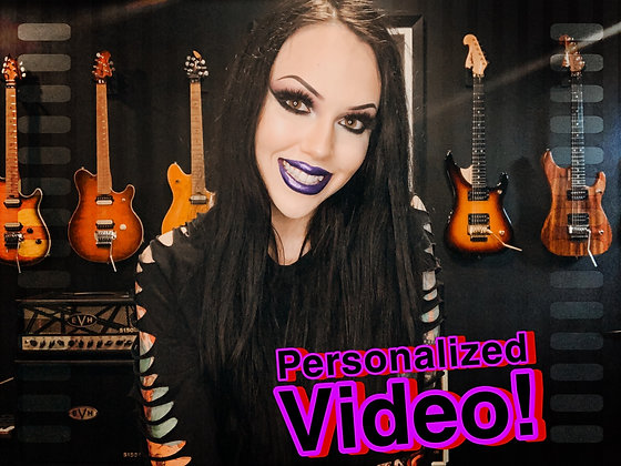 PERSONALIZED VIDEO!