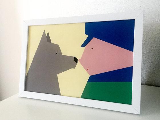 Nello & Patrasche - A Dog of Flanders