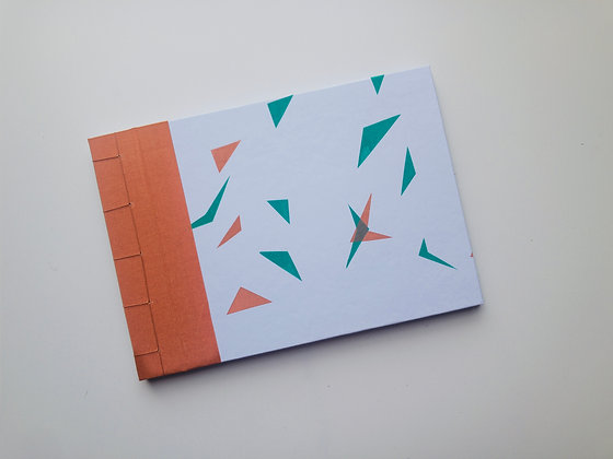 Notebook Triangle (screen printed front)