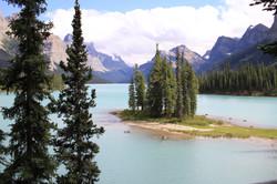 Lake Maligne, Jasper, Canada