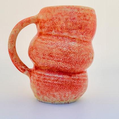 Bubble Mug (yellow/red)