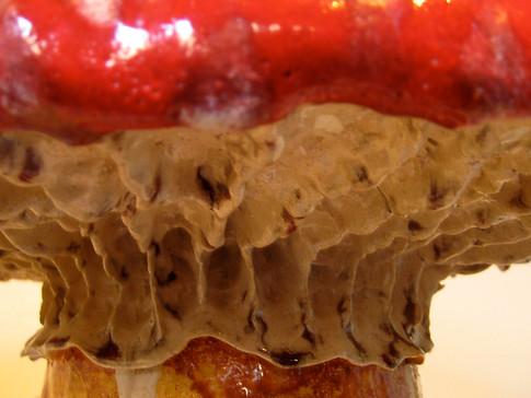 red mushroom stool