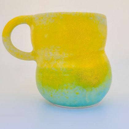 Bubble Mug (yellow/green)