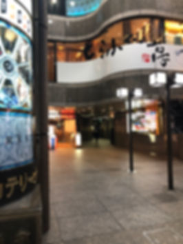 ザ・カテリーナビルの入り口(エレベーター案内)