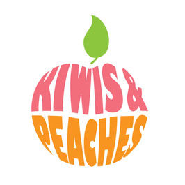 Kiwis & Peaches Logo