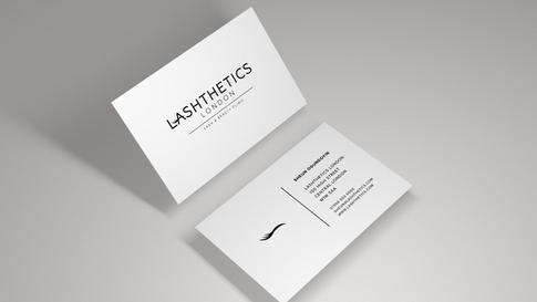 Lashthetics Business Cards