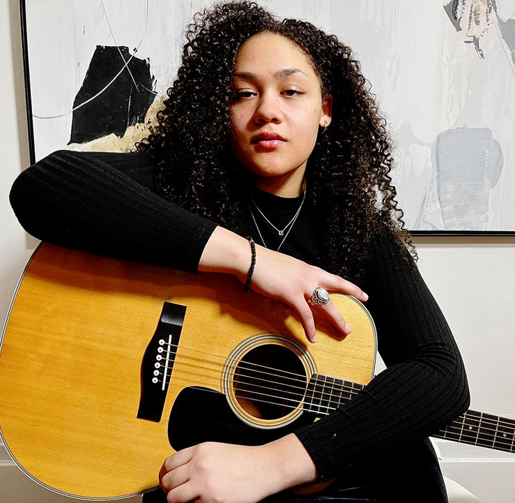 Who would she like to jam with and cover?  Gianna says she'd jam with Norwegian producer/songwriter, Aurora, and the covers she'd like to produce are Is It a Crime? be Sade and Doo Wop (That Thing) by Lauryn Hill.