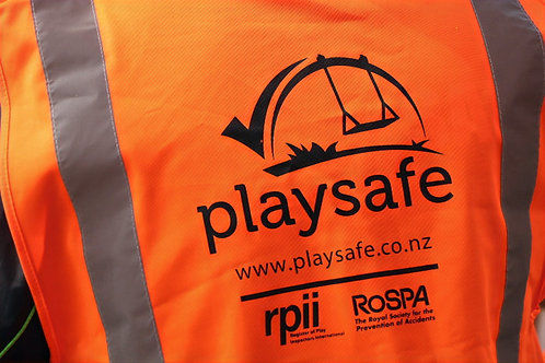 High Vis Inspection Vest - Playsafe