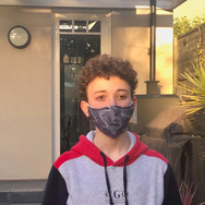 Glamoflage Grey Camo Face Mask maskselfi