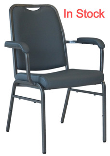 Helix Arm Stacking Chair In Stock