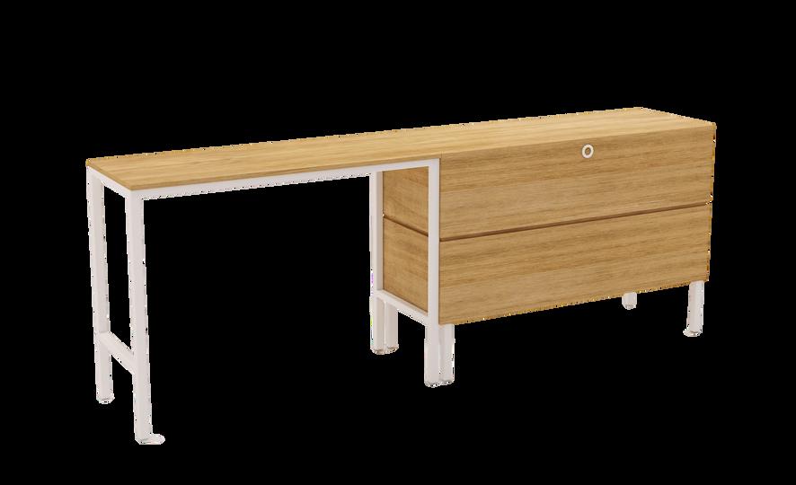Coastal Elan Desk and Entertainment unit