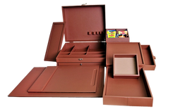 Complete Faux Leather Amenity Sets