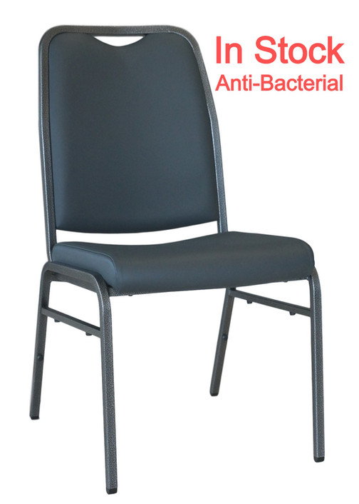 Helix Anti-Bacterial Stacking Chair In Stock