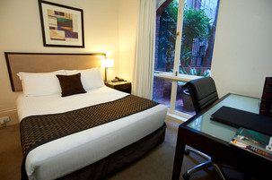 Custom hotel bedroom project
