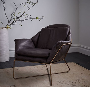 Metal Framed Armchair