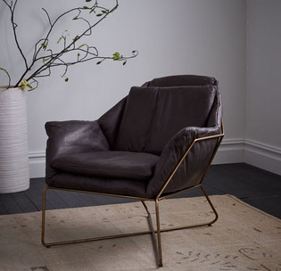 Metal Framed Armchair