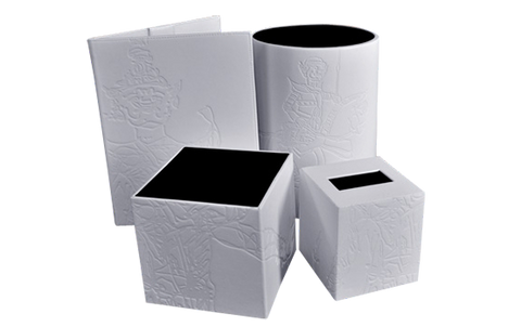 Tissue Boxes and Bins