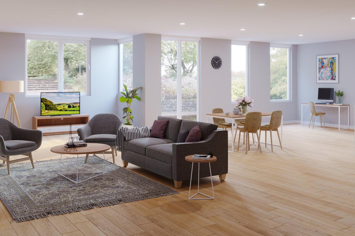 Ocean Drive Living Room