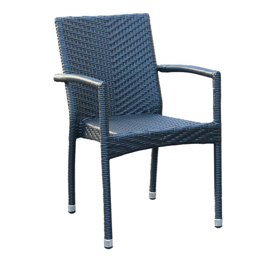 Palm Armchair Black Front.jpg