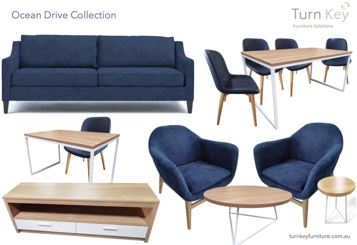 Ocean Drive Apartment Furniture Package
