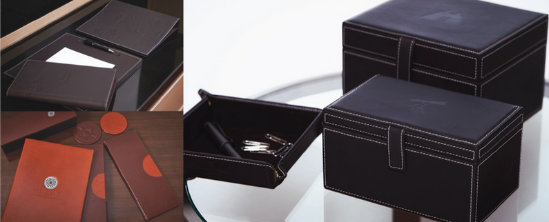 Embossed Leather Accessories