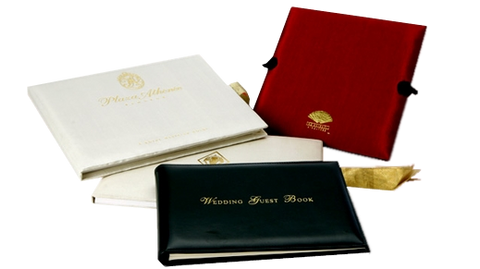 Branded Wedding Guest Book