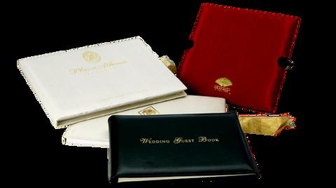 Branded Wedding Guest Book