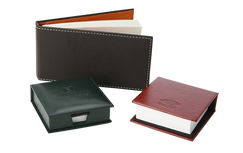 Custom Memo Holders and Note Pads