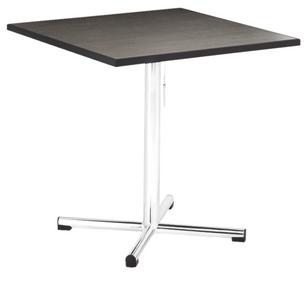 Cross Leg Pedestal Table